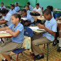 Estudiantes escuela Padre Billini