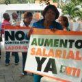 protesta salario