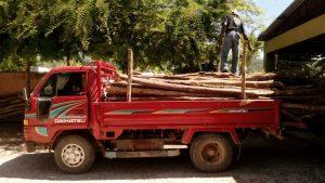 medio ambiente camion