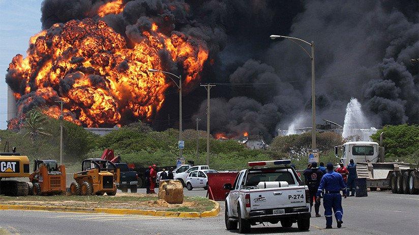 incendio venezuela