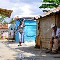 A orillas del río Ozama más de mil casas comprenden el sector La Barquita, cuyos moradores llevan más de 50 años, de generación en generación. Fotos: Carmen Suárez/acento.com.do Fecha: 17/04/2014